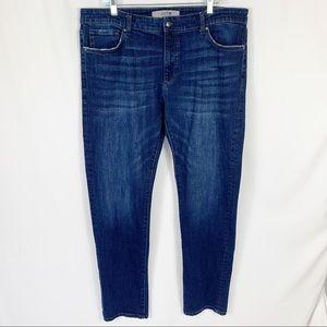Joe's Jeans Straight Leg Dark Wash Jeans 38 x 34